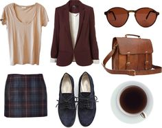 """""""Early morning research paper."""" by leemmy ❤ liked on Polyvore"""