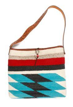 Totem Blanket Bag with Belt Strap