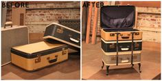 Turn vintage suitcases into a side table with storage! See more Flea Market Flip transformations here: http://www.gactv.com/gac/shows_hfmf/article/0,3557,GAC_45865_5761219_01,00.html