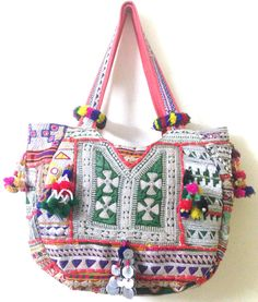 Vintage banjara bag Indian gypsy tribal banjara by ROYALEJAYPORE, $99.00
