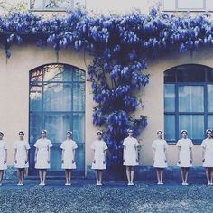 Atelier Biagetti's No Sex show caused a stir, as performers dressed as nurses paraded around a courtyard to loud music. Photograph by @studio_rdd  No Sex is on show at Piazza Arcola 4, Milan, for the duration of the city's design week. Keep up with our #milanogram2016 highlights on dezeen.com/events/2016/milan-design-week-2016 #design