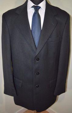 Mint Claiborne mens 3 button sport coat blazer jacket 40R REGULAR ...
