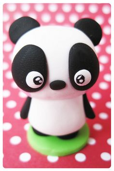 fimo cutey pie kawaii panda