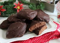 Mostaccioli napoletani morbidi ricetta Italian Christmas Cookies, Christmas Recipes, Biscotti Cookies, Beautiful Fruits, Looks Yummy, Ethnic Recipes, Desserts, Food, Menu