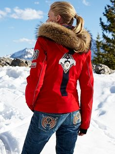 bogner love the denim look ski pants. Except they are $600.00 OUUCH