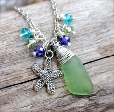 Hey, I found this really awesome Etsy listing at https://www.etsy.com/listing/193391567/starfish-anklet-sea-glass-jewelry-from