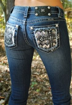 Miss Me Sequin Studded Cross Jeans $109.50 #SouthernFriedChics