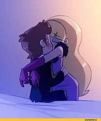 Image result for gravity falls dipper and candy kiss