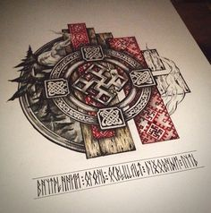 Leading Tattoo Magazine & Database, Featuring best tattoo Designs & Ideas from around the world. At TattooViral we connects the worlds best tattoo artists and fans to find the Best Tattoo Designs, Quotes, Inspirations and Ideas for women, men and couples. Slavic Tattoo, Pagan Tattoo, Norse Tattoo, Wiccan Tattoos, Heidnisches Tattoo, Body Art Tattoos, Sleeve Tattoos, Hand Tattoos, Inca Tattoo