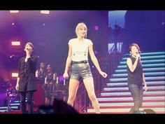 """▶ Taylor Swift & Tegan and Sara Performing """"Closer"""" (LIVE AT STAPLES CENTER AUG. 20TH, 2013) - YouTube"""