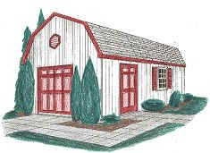 Storage Shed Plans 16x24 Woodworking Projects Amp Plans