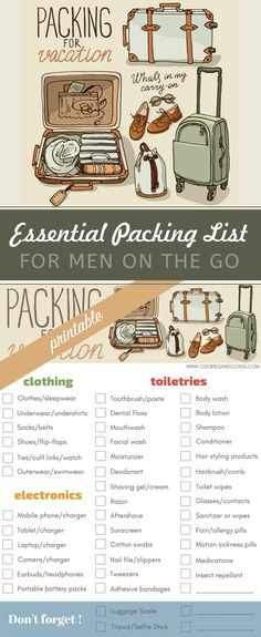 Travel essentials list summer packing tips ideas Vacation Packing, Packing List For Travel, Travel Checklist, New Travel, Packing Tips, Travel Tips, Travel Hacks, Travel Ideas, Family Travel