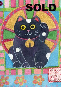 Maneki Neko as an Icon 1- SOLD by Gabby MALPAS | PLATFORMstore