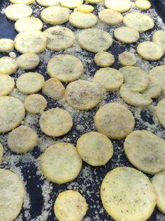 Cooking Healthy Recipes for Kids: Squash Parmesan Crisps   Madame Deals, Inc.