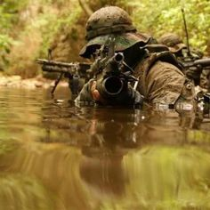 Navy SEALs doing their thing