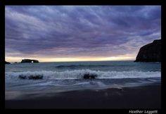 Storm approaching goat rock beach, Jenner, ca.