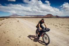 It's not so much that you couldn't ride these sandy, corrugated Bolivian roads on any other bike. It just wouldn't be as much fun. And that's not a word you often hear associated with long distance touring bikes.