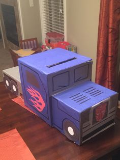 Optimus prime Valentines box
