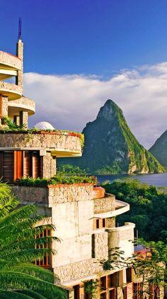 #Jetsetter Daily Moment of Zen: Jade Mountain in St. Lucia
