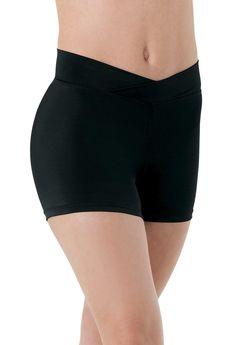 #Dancewear Solutions - #Dancewear Solutions V-Cut-Waist Shorts - AdoreWe.com