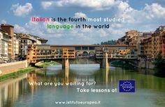 Study #Italian in #Florence, #Italy #Firenze www.istitutoeuropeo.it