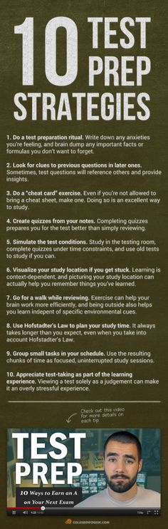 Ace Your Next Exam: 10 #Revision and #TestTakingTips!