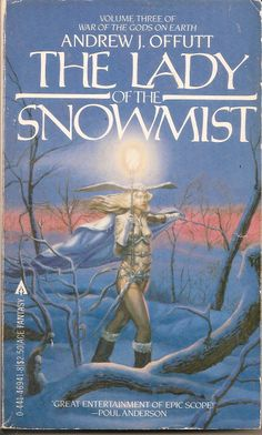 Lady of the Snowmist - Andrew J. Fantasy Book Covers, Fantasy Books, Sci Fi Fantasy, Cool Books, My Books, Science Fiction Books, Sword And Sorcery, Female Images, Novels