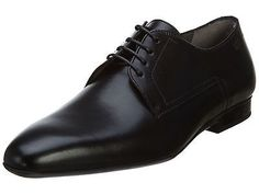 Hugo Boss C-Negio Mens 50291624-001 Black Leather Formal Dress Shoes Size 9