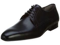 Hugo Boss C-Negio Mens 50291624-001 Black Leather Formal Dress Shoes Size 13