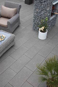 kleurvaste sierbestrating - terrastegels - banenverband 30x60