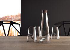Slice glass. Designed by Vasiliy Butenko