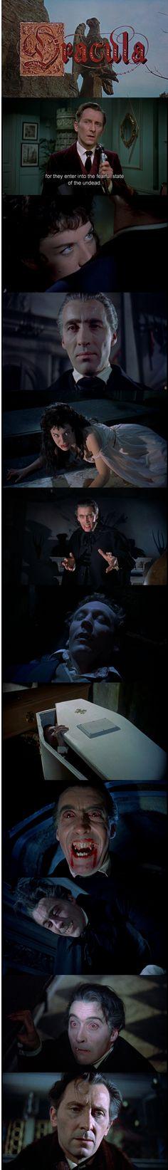 Dracula aka Horror of Dracula, Terence Fisher, 1958, Hammer House of Horror