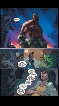 Inhuman #1 page 13 joe madureira