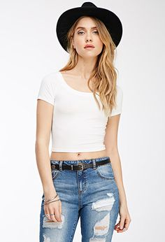 Classic Crop Top | FOREVER21 - 2000118245