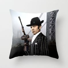 city nights, and Jason Wing Throw Pillow by seb mcnulty - $20.00