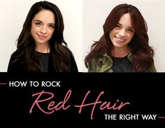 Hey brown haired ladies! Thinking about going red? One of our editors tells you everything you need to know about getting the right red hair for you.