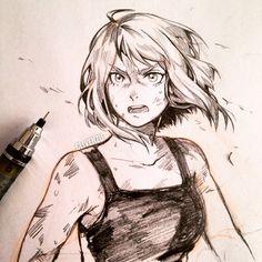 Boku no Hero Academia || Uraraka Ochako (Dibujo/Drawing)