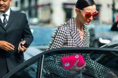 Erin O'Connor wearing Zanzan 'Erzulie' sunglasses The Street Report: London Fashion Week