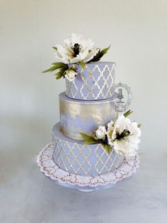 Cake by Firefly India by Pavani Kaur using our Moroccan Lattice Silicone Onlay