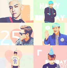 HAPPY BIRTHDAY TOP (Choi Seung Hyun) ♡ #BIGBANG : 4 November 2013 Birthday List, Happy Birthday, Top Rappers, Korean Tops, Top Choi Seung Hyun, Gd And Top, Top Bigbang, 4th November, Into The Fire
