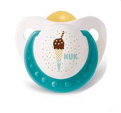 Chupete nuk de la colección cup cakes. www.farmaciamontagut.com #farmacia #bebes #chupete #Nuk