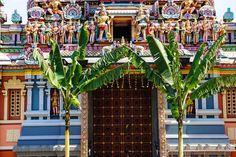 Sri Kandaswamy Kovil Tempeleingang Kuala Lumpur, Fun Places To Go, Travel Report, Travel Advice, Viajes