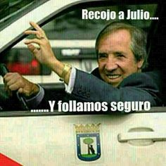 Dos grandes juntos Memes, Baseball Cards, Humor, Julio Iglesias, Belly Laughs, Updos, Funny Pictures, Jokes, Funny
