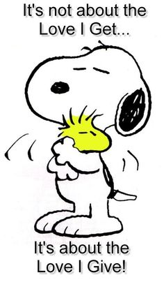 Give Love! Snoopy