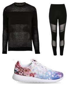 """""""Untitled #2373"""" by clarry-sinclair ❤ liked on Polyvore featuring River Island and NIKE"""