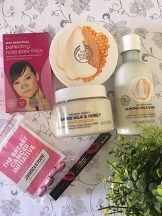 Melanie's Nook: Haul : February 2017 Nose Pore Strips, Nose Pores, Milk And Honey, Beauty Review, African Beauty, The Body Shop, Nook, February, Corner