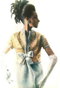 St Yves Laurent wedding dresses 1960's