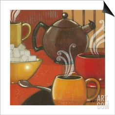 Another Cup I SwitchArt™ Print by Norman Wyatt Jr. at Art.com