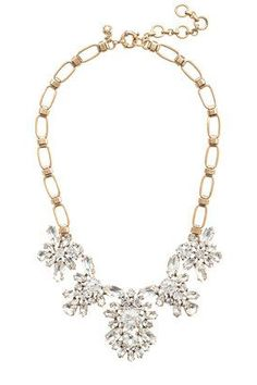 Crystal blooms necklace - A Very Secret Pinterest Sale: 25% off any order at jcrew for 48 hours with code SECRET