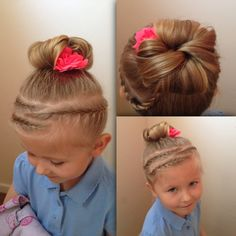 All Hairstyles, To My Daughter, Hair Styles, Fashion, Hair Plait Styles, Moda, Fashion Styles, Hair Makeup, Hairdos